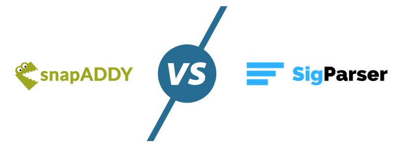 SnapADDY vs SigParser